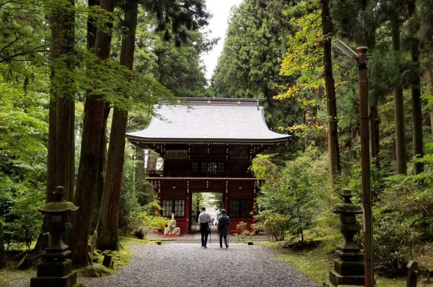 茨城 御岩神社へ。